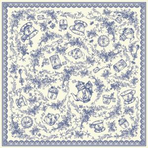 Provence Romance Lace Rim (Navy Color)14022013