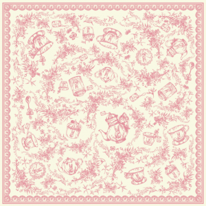 Provence Romance Lace Rim  (Pink Color)14022013